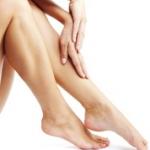 Eliminar arañas vasculares de las piernas