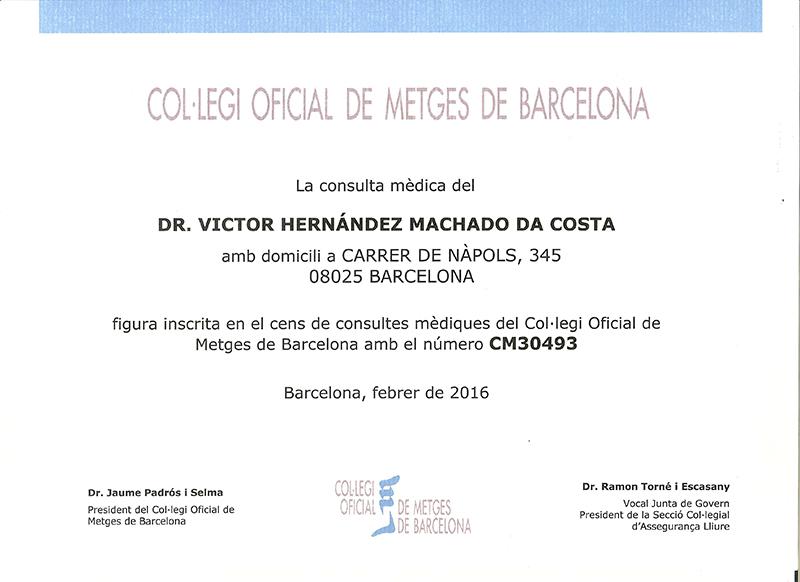 Censo Médico Oficial